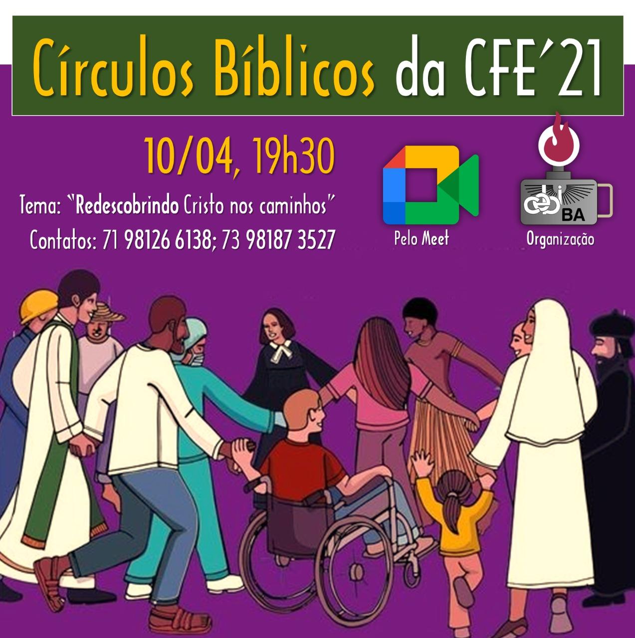Amanhã(10) é dia de Circulo Bíblico do CEBI Bahia