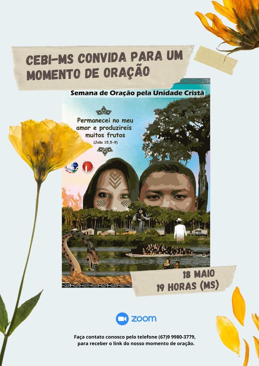 CEBI Mato Grosso do Sul e a Semana de Oração pela Unidade Cristã-SOUC 2021