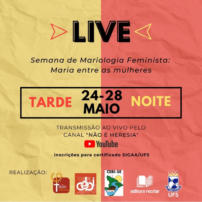 Debate abordará as perspectivas da Mariologia Feminista- Maria de Nazaré, a Virgem entre as mulheres reais