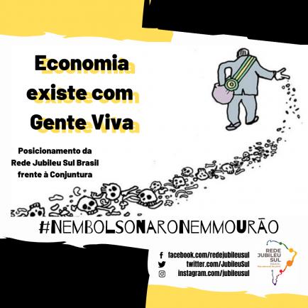 Economia existe com Gente Viva : Posicionamento da Rede Jubileu Sul Brasil frente à Conjuntura