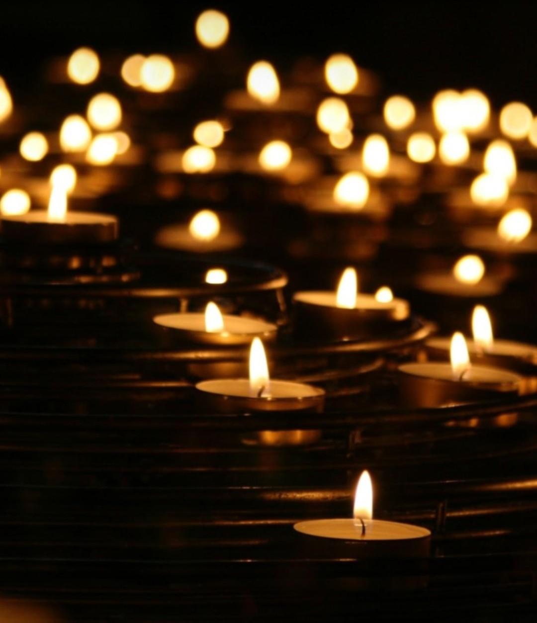 """O CEBI Nacional apoia o """"Ato 500 velas por 500 mil mortes""""! Veja aqui como apoiar e participar do Ato em sua cidade"""