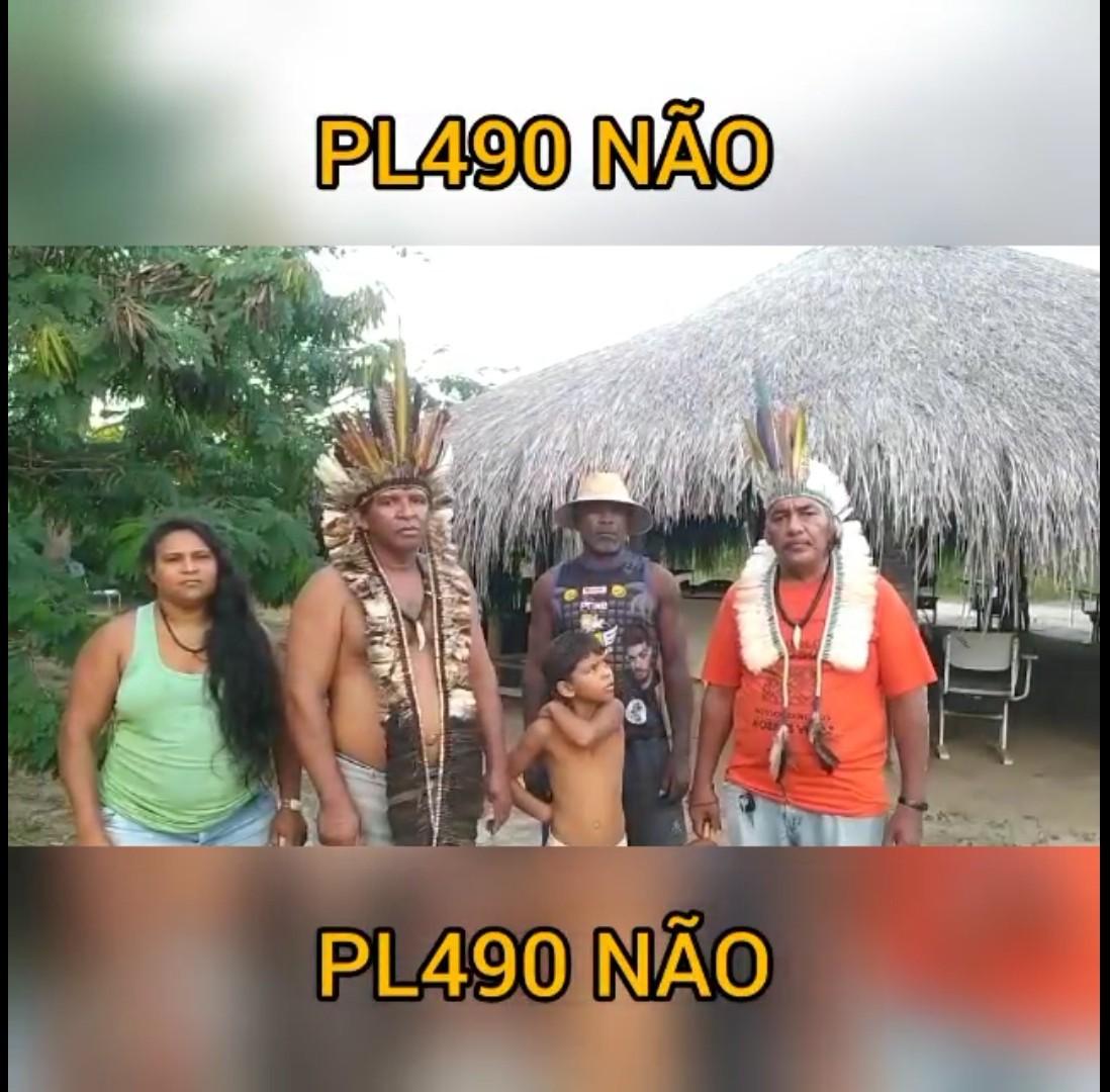 CEBI Paraiba no apoio à causa dos povos indígenas contra o PL 490