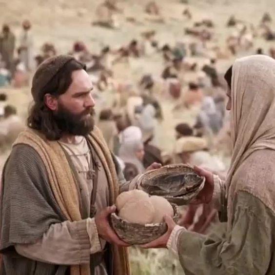 Jesus e a fome do povo