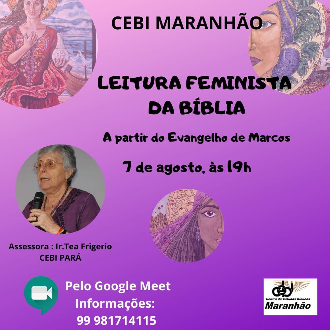 """CEBI Maranhão realiza formação sobre """"Leitura Feminista da Bíblia"""""""