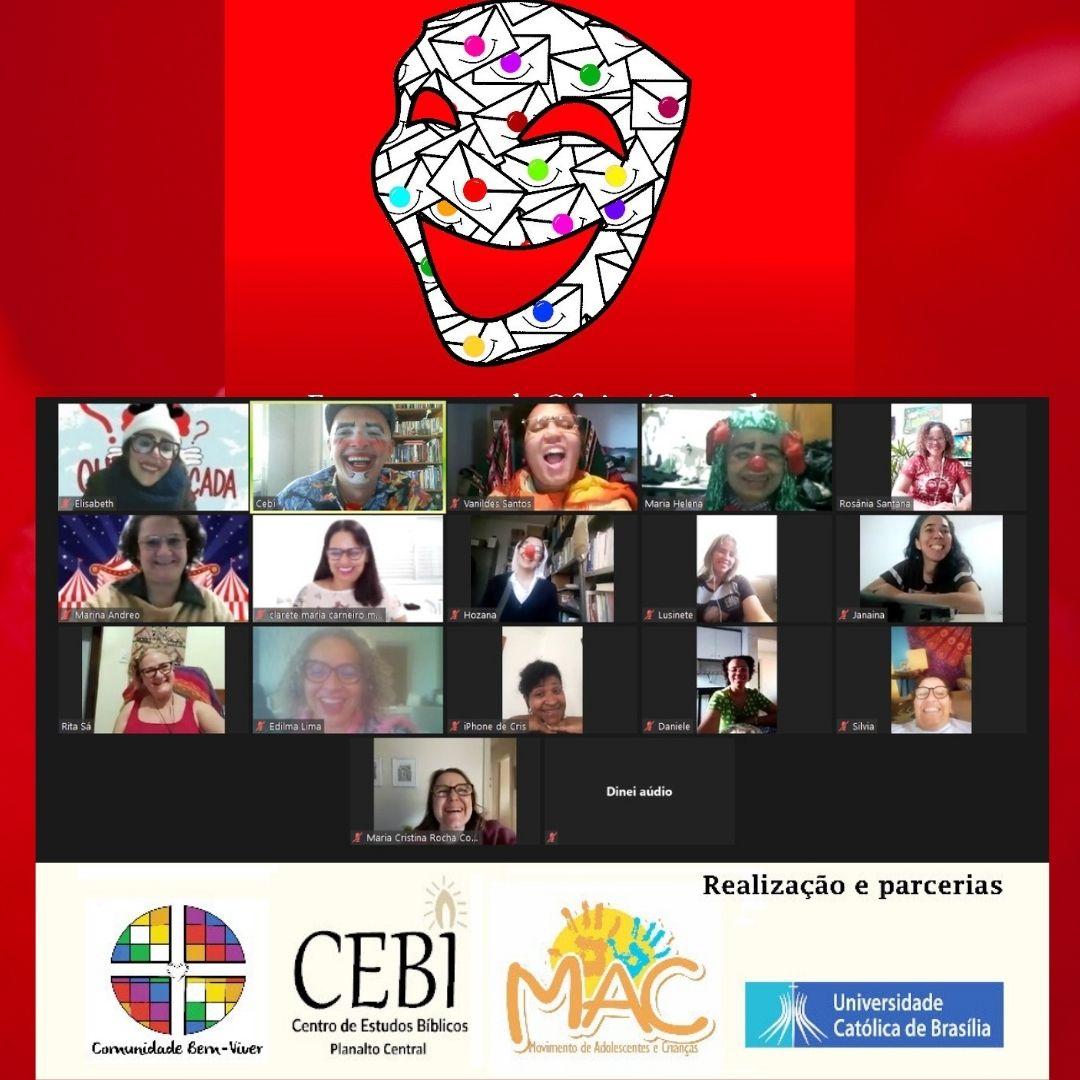CEBI Planalto Central – Curso Metodologia do Trabalho com o Riso conclui atividades