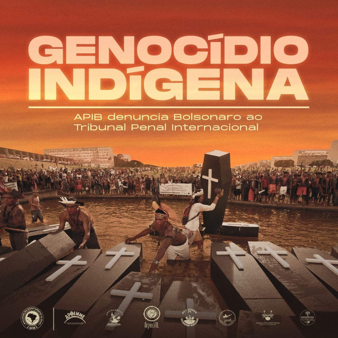 CPT – INÉDITO: APIB denuncia Bolsonaro, em Haia, por genocídio indígena