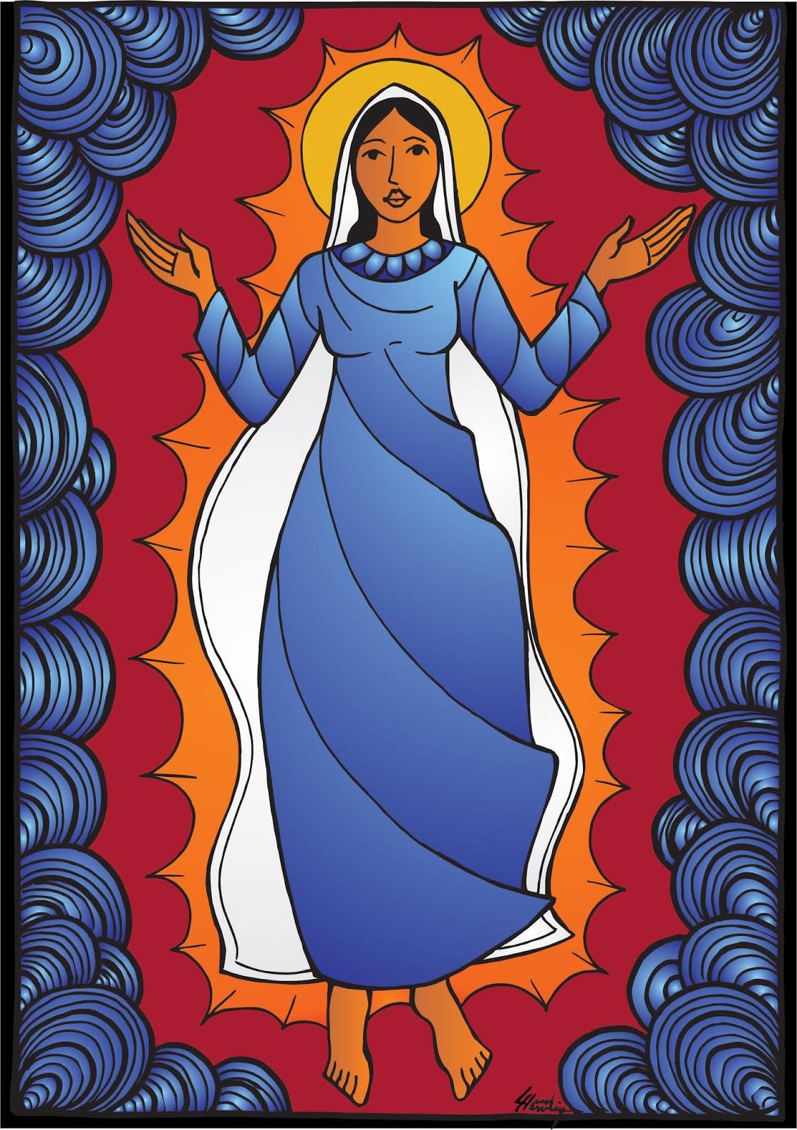 Maria é figura de uma humanidade livre, madura e solidária