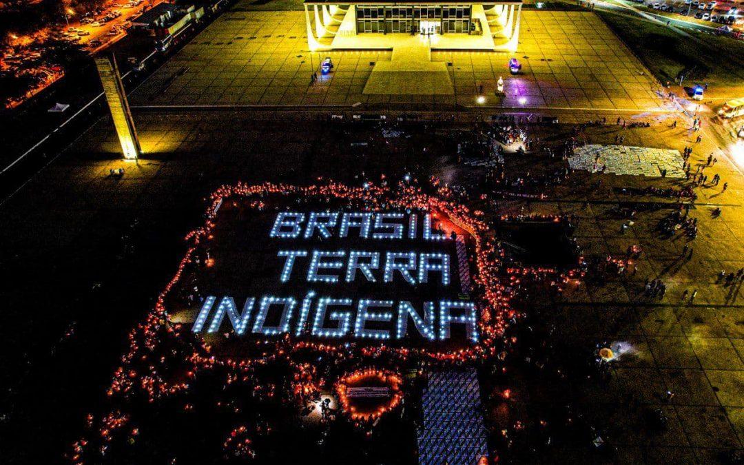 Acampamento Luta pela Vida já é a maior mobilização nacional dos povos indígenas da história do Brasil. E o que isso significa?