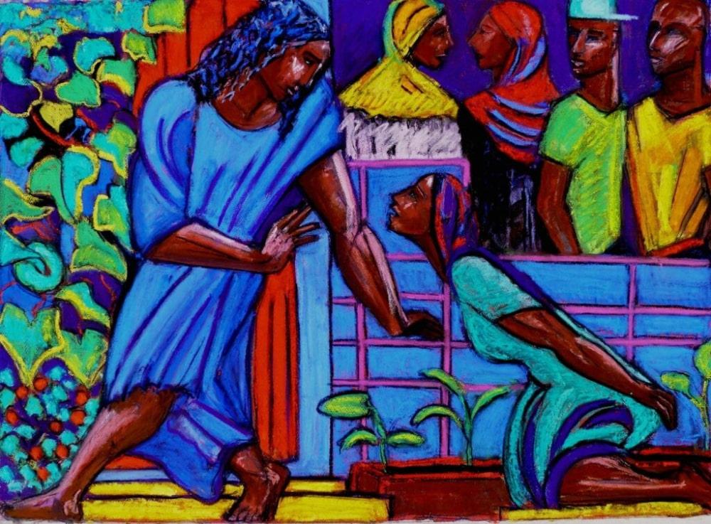O encontro de Jesus com a mulher Siro-fenícia