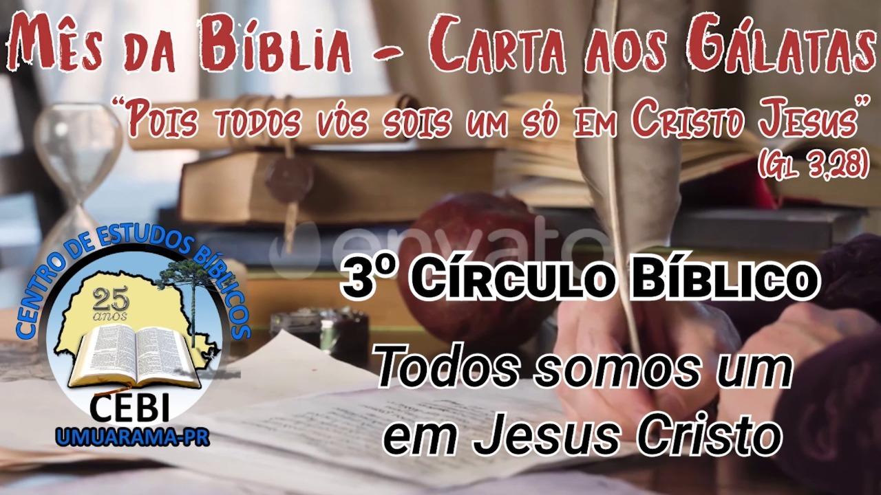 3º Círculo Bíblico do CEBI Umuarama, acontece Hoje (20)