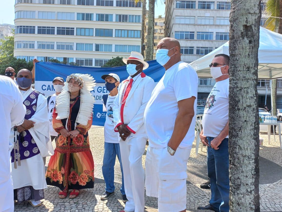 CEBI Rio de Janeiro participa de Ato de Combate à intolerância religiosa em Copacabana