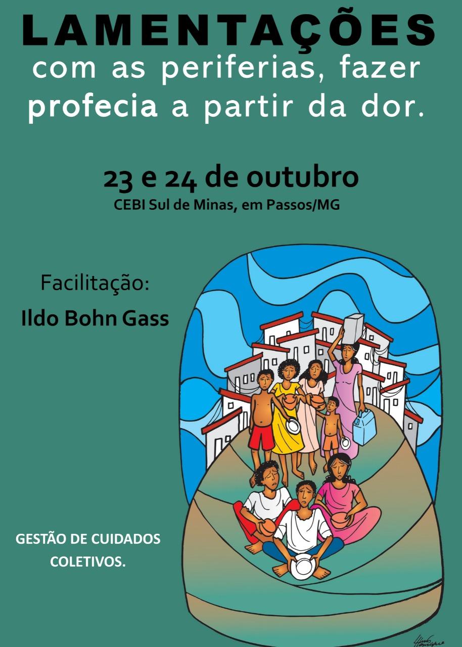 CEBI-Sul de Minas Gerais realizará encontro sobre o livro das Lamentações