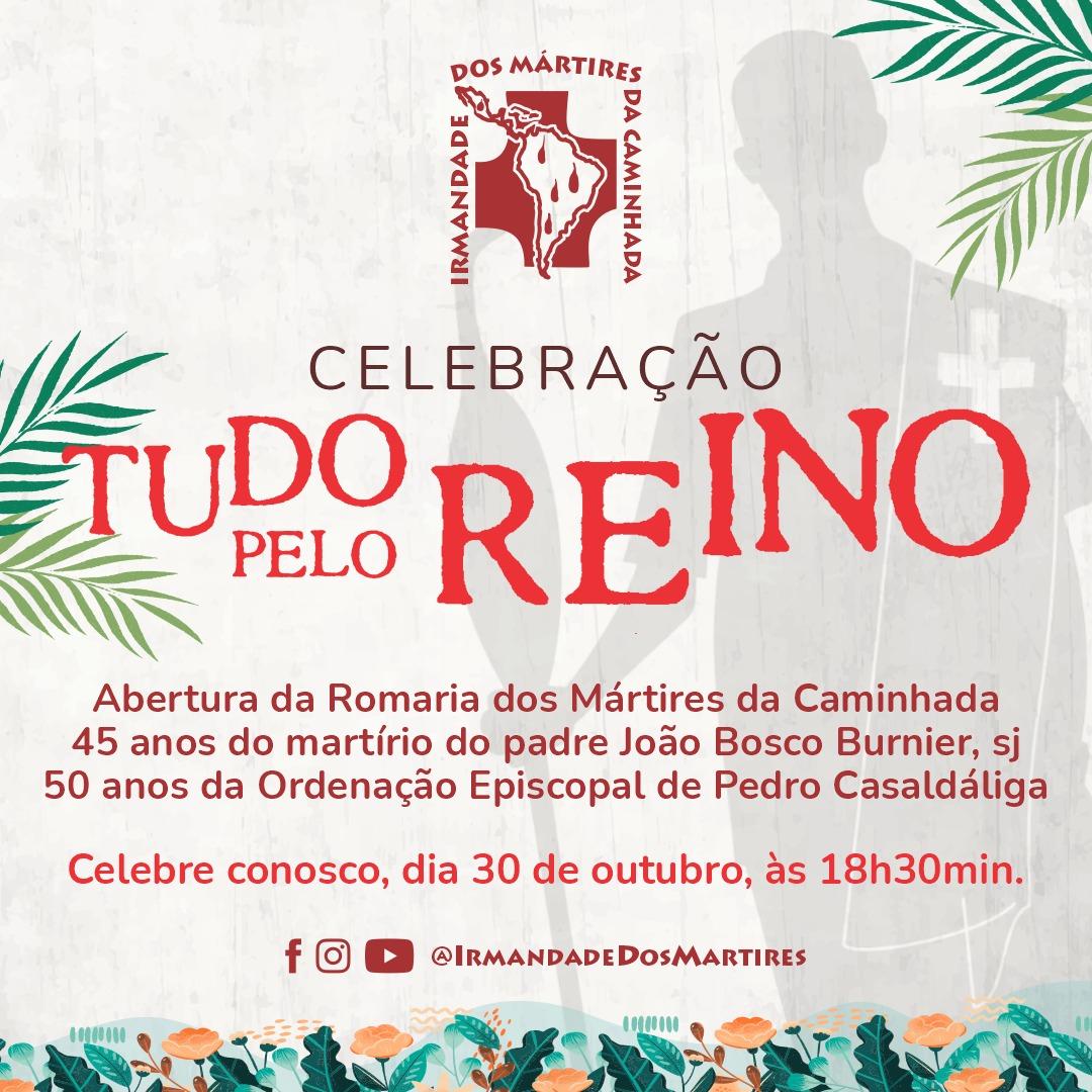 """Irmande dos Mártires convida para a Celebração """"Tudo pelo Reino"""", no sábado(30)"""