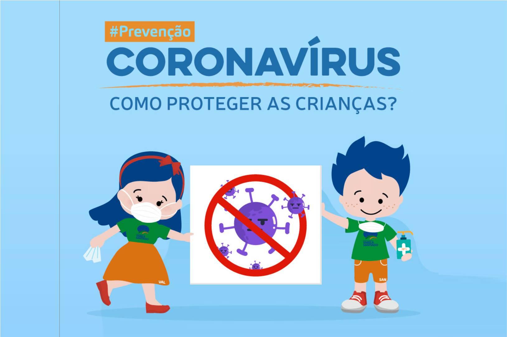 Coronavirus Como proteger as criancas