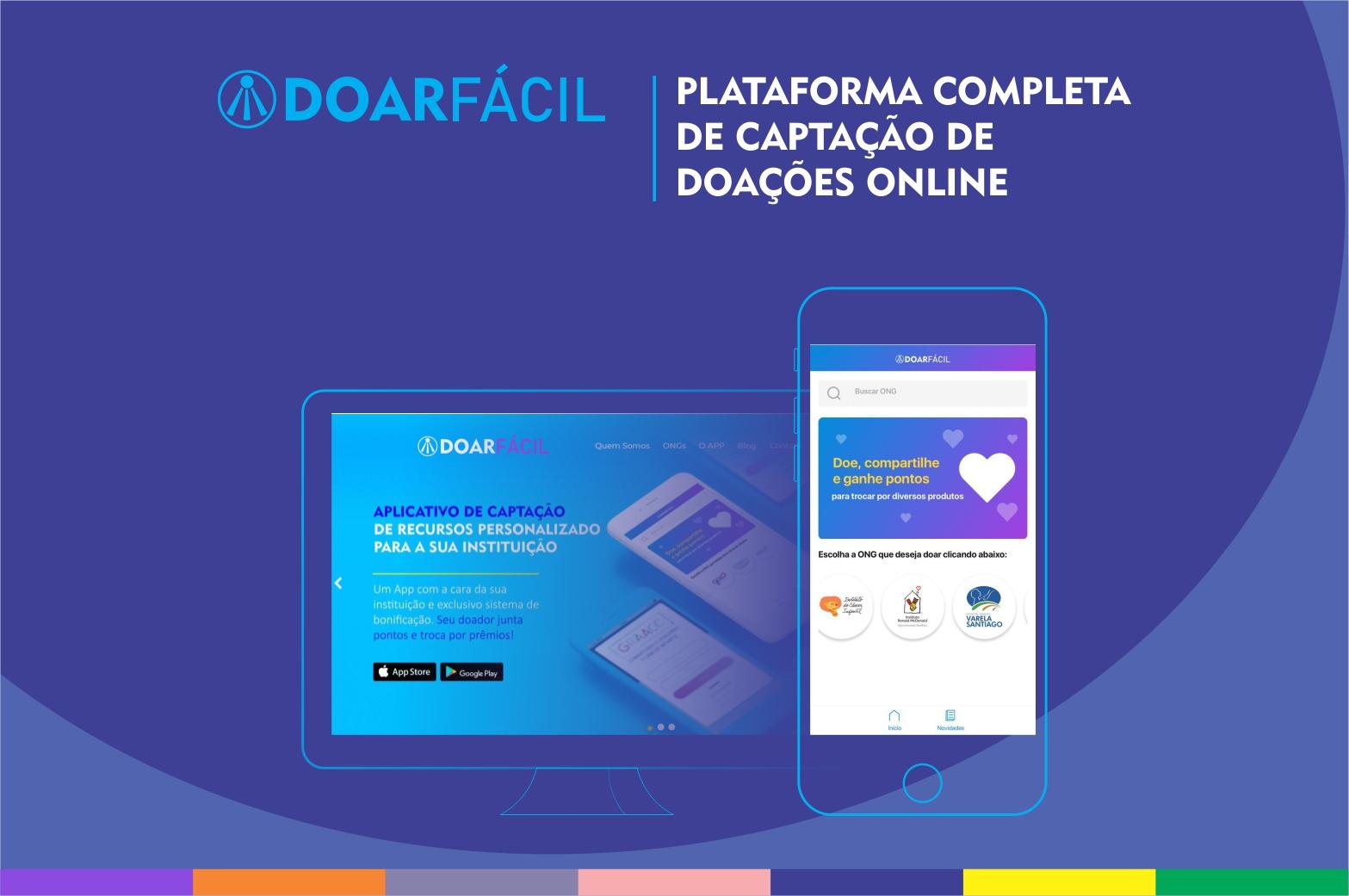 Doar Fácil - plataforma de captação de recursos online