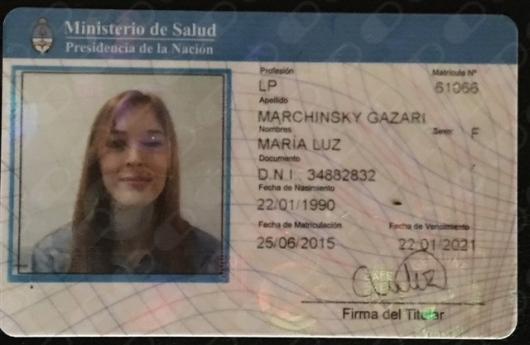 M Luz Marchinsky - Galería de imágenes