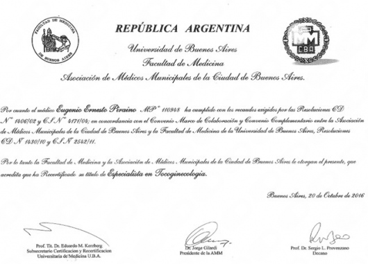 Eugenio Ernesto Piraino - Multimedia