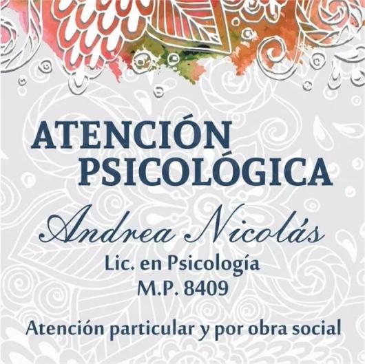 Andrea Nicolás - Galería de imágenes