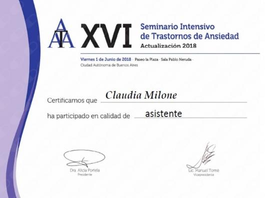 Claudia Milone - Galería de imágenes