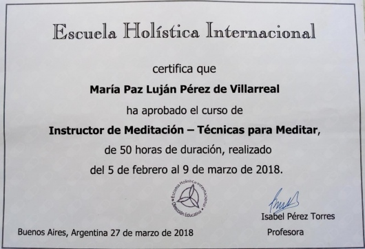 María Paz Luján Pérez de Villarreal  - Multimedia