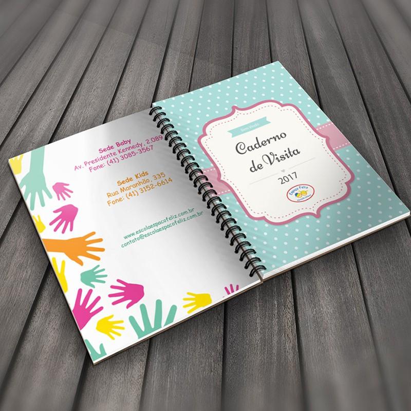 Caderno de visita - Espaço Feliz