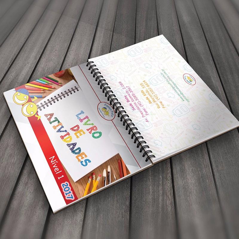 Livro de atividades - Espaço Feliz