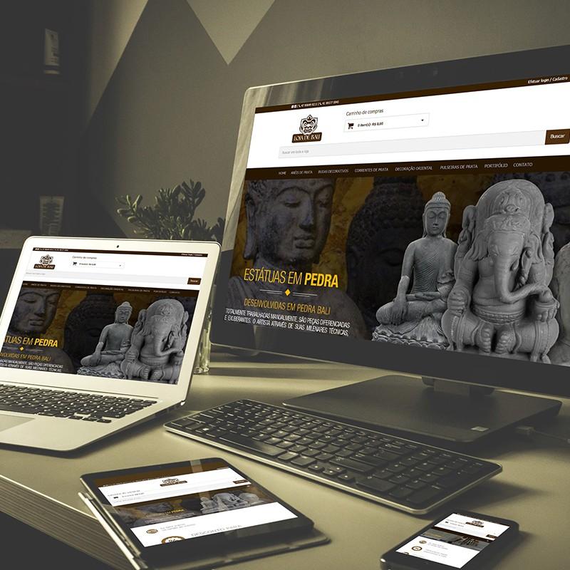 E-commerce Loja de Bali
