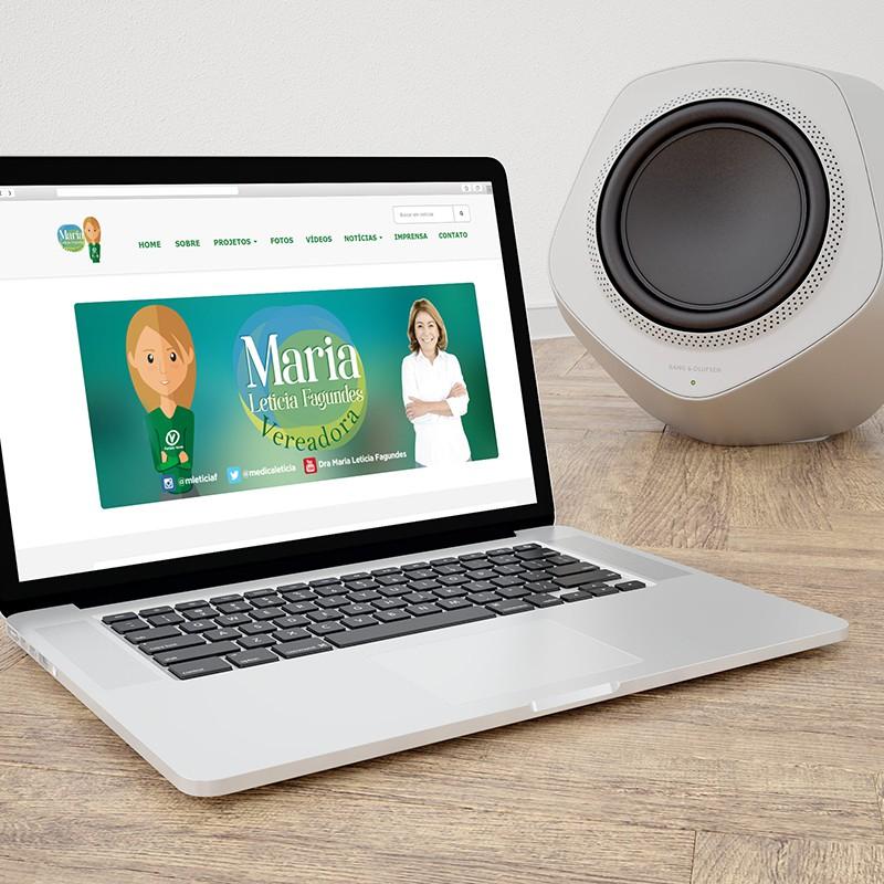 Website Vereadora Maria Leticia