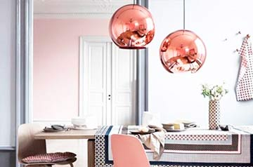 Rose Gold: O charme que faltava na sua home décor