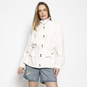 Parka Fabia Brilho - Off White