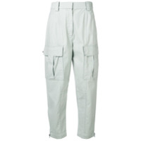 3.1 Phillip Lim cropped cargo trousers - Verde