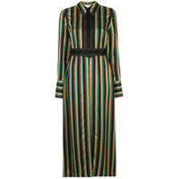 3.1 Phillip Lim Long Striped Shirt Jacket - Estampado