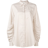 3.1 Phillip Lim Striped Shirt - Branco