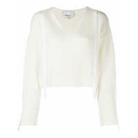 3.1 Phillip Lim Suéter Cropped - Neutro