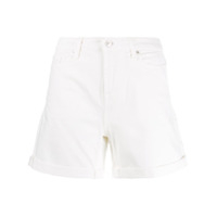 7 For All Mankind Short Jeans Boy - Branco