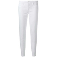 7 For All Mankind Calça Jeans Cropped Pyper - Branco