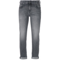 7 For All Mankind Calça Jeans Reta - Cinza