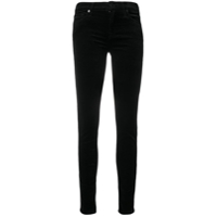 7 For All Mankind Calça Jeans Skinny Cintura Média - Preto