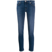 7 For All Mankind Calça Jeans Skinny Com Tachas - Azul