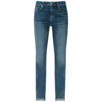 7 For All Mankind Calça Jeans Skinny Curta - Azul