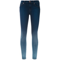 7 For All Mankind Calça Jeans Skinny Degradê - Azul
