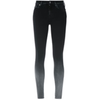 7 For All Mankind Calça Jeans Skinny Degradê - Preto