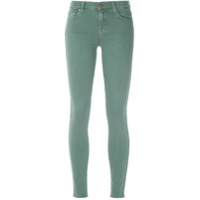 7 For All Mankind Calça Jeans Skinny - Verde