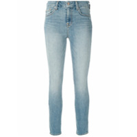 7 For All Mankind Calça Jeans The Ankle Skinny - Azul