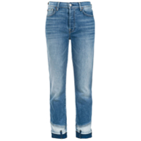 7 For All Mankind Calça Reta 'edie' Jeans - Azul
