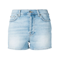 7 For All Mankind Short Jeans - Azul