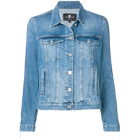 7 For All Mankind Jaqueta Jeans - Azul