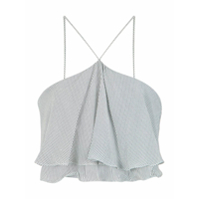 A.brand Top Cropped De Seda - 0005
