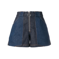 A.p.c. Zipped Shorts - Azul