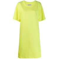 A_Plan_Application Vestido Estilo Boxy - Amarelo